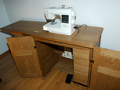 - Sewing Machine Cabinet By Ben Jackson